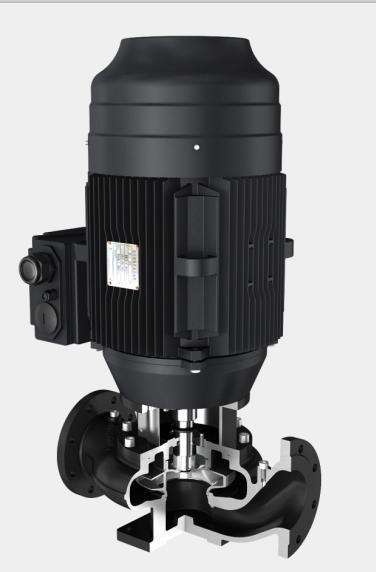 llKV vertical-single-stage-inline-centrifugal-pump