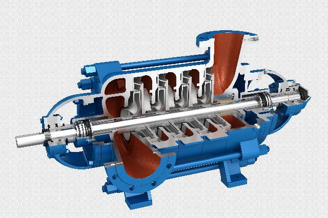 HM型卧式多级离心泵